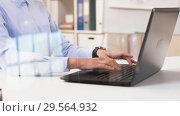 Купить «businesswoman hands typing on laptop at office», видеоролик № 29564932, снято 10 декабря 2018 г. (c) Syda Productions / Фотобанк Лори