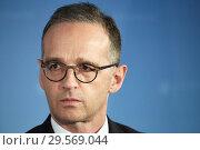 Купить «Berlin, Germany - Federal Foreign Minister Heiko Maas.», фото № 29569044, снято 6 ноября 2018 г. (c) Caro Photoagency / Фотобанк Лори