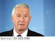 Купить «Berlin, Germany - Thorbjoern Jagland, Secretary General of the Council of Europe.», фото № 29569048, снято 6 ноября 2018 г. (c) Caro Photoagency / Фотобанк Лори
