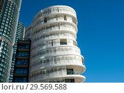 Sydney, Australia, Modern apartments in Barangaroo South (2018 год). Редакционное фото, агентство Caro Photoagency / Фотобанк Лори