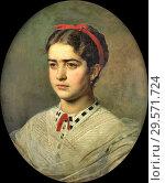 Купить «Bobrov Viktor Alexejewitsch - Portrait of a Young Lady.», фото № 29571724, снято 16 июля 2019 г. (c) age Fotostock / Фотобанк Лори