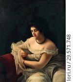 Купить «Bobrov Viktor Alexejewitsch - Reading Woman (the Letter).», фото № 29571748, снято 16 июля 2019 г. (c) age Fotostock / Фотобанк Лори