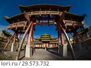 Купить «Дворец-музей Богдо-гэгэна в Улан-Баторе, Монголия», фото № 29573732, снято 11 ноября 2018 г. (c) Евгений Прокофьев / Фотобанк Лори