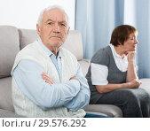 Купить «Aged couple arguing», фото № 29576292, снято 29 февраля 2020 г. (c) Яков Филимонов / Фотобанк Лори