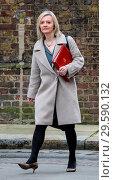 Купить «Ministers attend the weekly Cabinet meeting at 10 Downing Street, London Featuring: Liz Truss, Elizabeth Truss Where: London, United Kingdom When: 20 Mar 2018 Credit: John Rainford/WENN.com», фото № 29590132, снято 20 марта 2018 г. (c) age Fotostock / Фотобанк Лори