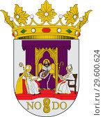 Купить «Герб города Севилья. Испания», иллюстрация № 29600624 (c) Владимир Макеев / Фотобанк Лори