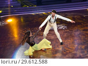 Купить «German RTL Live TV Show 'Let's Dance' at MMC Studios in Ossendorf. Featuring: Jimi Blue Ochsenknecht, Renata Lusin Where: Cologne, Germany When: 16 Mar 2018 Credit: WENN.com», фото № 29612588, снято 16 марта 2018 г. (c) age Fotostock / Фотобанк Лори