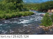 Купить «Горная речка», фото № 29625124, снято 6 августа 2018 г. (c) А. А. Пирагис / Фотобанк Лори