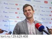 Купить «World Chess Champion Magnus Carlsen, Norway», фото № 29629408, снято 30 декабря 2018 г. (c) Stockphoto / Фотобанк Лори