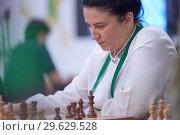 Купить «Women Grandmaster Zeinab Mamedjarova, Azerbaijan», фото № 29629528, снято 30 декабря 2018 г. (c) Stockphoto / Фотобанк Лори