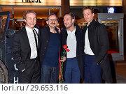 The premiere Der Hauptmann at Kino International. Berlin, Germany... (2018 год). Редакционное фото, фотограф AEDT / WENN.com / age Fotostock / Фотобанк Лори