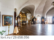 Купить «Interior of the Church of the Presentation of the Blessed Virgin in the Temple», фото № 29658056, снято 8 июля 2018 г. (c) FotograFF / Фотобанк Лори