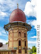 Купить «One of domes of Temple of All Religions», фото № 29658132, снято 11 июня 2018 г. (c) FotograFF / Фотобанк Лори