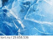 Купить «Abstract ice background», фото № 29658536, снято 5 января 2019 г. (c) Икан Леонид / Фотобанк Лори