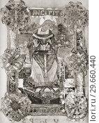 Купить «Venantius Honorius Clementianus Fortunatus, c. 530-c. 600/609 AD. Latin poet, hymnodist in the Merovingian Court and Bishop.», фото № 29660440, снято 20 ноября 2019 г. (c) age Fotostock / Фотобанк Лори