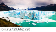 Купить «Panorama of glacier Perito Moreno and mountains», фото № 29662720, снято 23 мая 2019 г. (c) Яков Филимонов / Фотобанк Лори