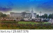 Купить «Buckingham Palace 2», видеоролик № 29667576, снято 19 июля 2019 г. (c) Wavebreak Media / Фотобанк Лори