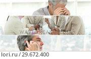 Купить «Stress in the workplace», видеоролик № 29672400, снято 5 апреля 2020 г. (c) Wavebreak Media / Фотобанк Лори