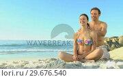 Купить «Handsome man massaging his wife», видеоролик № 29676540, снято 14 ноября 2010 г. (c) Wavebreak Media / Фотобанк Лори
