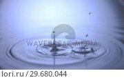 Купить «Splashing in super slow motion», видеоролик № 29680044, снято 26 января 2012 г. (c) Wavebreak Media / Фотобанк Лори
