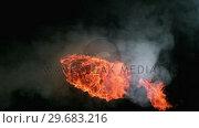 Купить «Fire ball going in the air», видеоролик № 29683216, снято 9 мая 2012 г. (c) Wavebreak Media / Фотобанк Лори