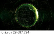 Купить «Close up of the Earth turning on itself», видеоролик № 29687724, снято 31 марта 2016 г. (c) Wavebreak Media / Фотобанк Лори