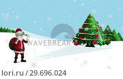 Купить «Illustration of christmas greeting», видеоролик № 29696024, снято 20 декабря 2016 г. (c) Wavebreak Media / Фотобанк Лори
