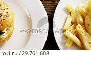 Купить «Snacks on plate», видеоролик № 29701608, снято 13 января 2017 г. (c) Wavebreak Media / Фотобанк Лори