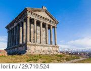 Купить «Армения.Храм Гарни.Окрестности Еревана», фото № 29710524, снято 6 января 2019 г. (c) Gagara / Фотобанк Лори