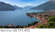 Купить «Menaggio city Como lake and mountains», фото № 29711472, снято 16 мая 2017 г. (c) Михаил Коханчиков / Фотобанк Лори