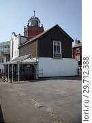 Купить «Lyme Regis Museum on the Jurassic Coast in Dorset, England.», фото № 29712388, снято 11 мая 2009 г. (c) Serg Zastavkin / Фотобанк Лори