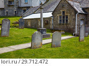 Купить «The churchyard of St Michael the Archangel Church. Lyme Regis. West Dorset. England», фото № 29712472, снято 12 мая 2009 г. (c) Serg Zastavkin / Фотобанк Лори