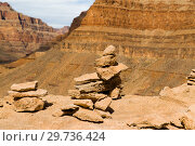 rocks in grand canyon. Стоковое фото, фотограф Syda Productions / Фотобанк Лори