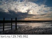 Купить «Sunset at Noordpolderzijl», фото № 29745992, снято 26 июня 2013 г. (c) John Stuij / Фотобанк Лори