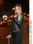 Купить «Beautiful young woman.», фото № 29755416, снято 25 апреля 2016 г. (c) Сергей Сухоруков / Фотобанк Лори