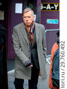 Купить «Timothy Spall seen walking in Soho as he pass the G.A.Y Nightclub in Soho. Timothy is promoting his latest film 'Finding Your Feet' and looked slimmer...», фото № 29760492, снято 21 февраля 2018 г. (c) age Fotostock / Фотобанк Лори