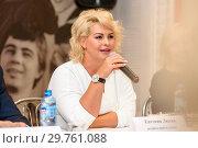 Купить «Актриса Евгения Лютая», фото № 29761088, снято 9 октября 2018 г. (c) Владимир Ковальчук / Фотобанк Лори