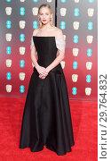 Купить «71st EE British Academy Film Awards (BAFTA) - Arrivals Featuring: Jennifer Lawrence Where: London, United Kingdom When: 18 Feb 2018 Credit: WENN.com», фото № 29764832, снято 18 февраля 2018 г. (c) age Fotostock / Фотобанк Лори