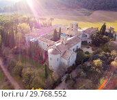 Купить «Cultural complex Mon Sant Benet, Catalonia», фото № 29768552, снято 25 ноября 2018 г. (c) Яков Филимонов / Фотобанк Лори