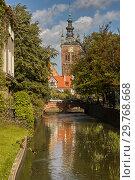 Купить «Radunia Channel in Gdansk, Poland», фото № 29768668, снято 31 августа 2006 г. (c) Stockphoto / Фотобанк Лори