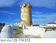 Купить «Medieval tower. Paterna, Valencia province, Comunidad Valenciana, Spain.», фото № 29774972, снято 24 января 2019 г. (c) age Fotostock / Фотобанк Лори