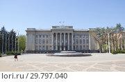 Купить «Здание Законодательного собрания Краснодарского края», фото № 29797040, снято 10 апреля 2018 г. (c) Олег Хархан / Фотобанк Лори