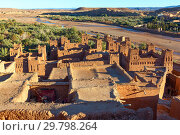 Towers of Ait Ben Haddou, Morocco (2018 год). Стоковое фото, фотограф Михаил Коханчиков / Фотобанк Лори