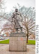 Купить «Памятник Уинстону Черчиллю. Прага. Чехия», фото № 29813716, снято 22 декабря 2015 г. (c) Сергей Афанасьев / Фотобанк Лори