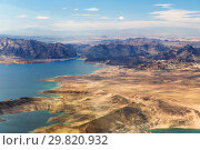 Купить «aerial view of grand canyon and lake mead», фото № 29820932, снято 1 марта 2018 г. (c) Syda Productions / Фотобанк Лори
