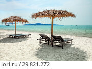 Tropical beach (2013 год). Стоковое фото, фотограф Юлия Бабкина / Фотобанк Лори