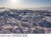 Купить «Lake Baikal in winter», фото № 29832032, снято 8 марта 2017 г. (c) Юлия Белоусова / Фотобанк Лори