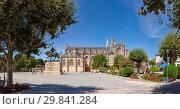 Купить «Batalha Monastery, Largo Infante Dom Henrique», фото № 29841284, снято 24 июня 2019 г. (c) age Fotostock / Фотобанк Лори
