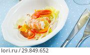 Купить «Shrimp ceviche», фото № 29849652, снято 14 октября 2019 г. (c) Яков Филимонов / Фотобанк Лори