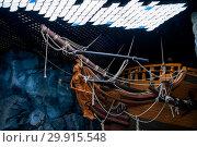 Купить «Russia, Vladivostok, July 2018: feed ship in Vladivostok aquarium», фото № 29915548, снято 28 июля 2018 г. (c) Катерина Белякина / Фотобанк Лори
